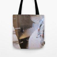 escher Tote Bags featuring Escher 2 by KMZphoto