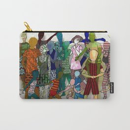 To the Beach by Lesley Nolan Carry-All Pouch