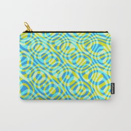 Mixed Polyps Yellow - Coral Reef Series 039 Carry-All Pouch