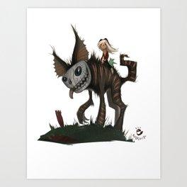 El Roquito. Art Print