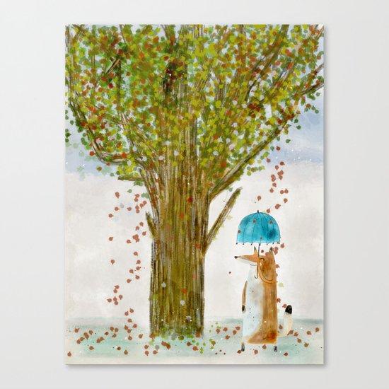 an autumns day Canvas Print
