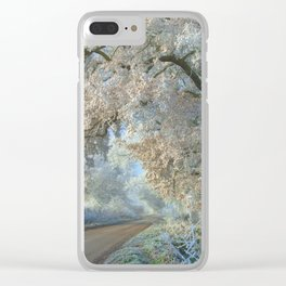 Cotswolds Frost Clear iPhone Case
