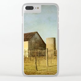 Wine Craft Clear iPhone Case