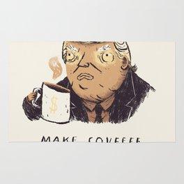 make covfefe great again! trump print Rug