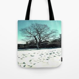 Wise Winter Tree Tote Bag