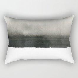 Landscape in white Rectangular Pillow