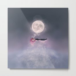 Moonsende / Back to Home Metal Print