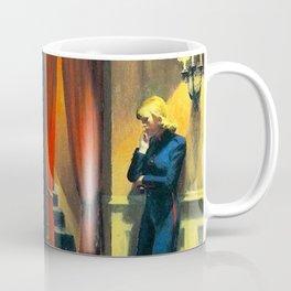 NEW YORK MOVIE - EDWARD HOPPER Coffee Mug