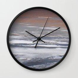 Alkali Lake Wall Clock