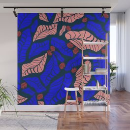 Bright bold floral designs for fashion and home Wall Mural