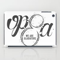 scandal iPad Cases featuring Scandal - Olivia Pope & Associates by leftyprints