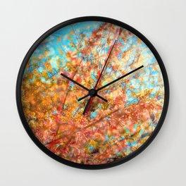 Trippin under a tree Wall Clock