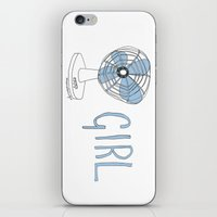 fangirl iPhone & iPod Skins featuring FANGIRL. by Rosianna