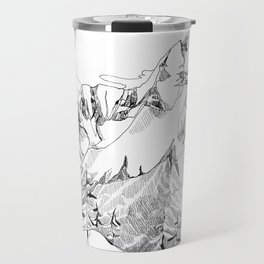 Mount Dunkirk - Single Line Travel Mug