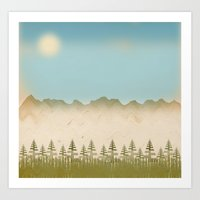 relax Art Prints featuring Relax by Tammy Kushnir