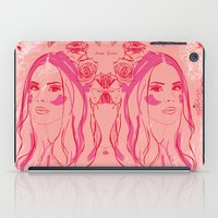 lana iPad Cases featuring Lana by Esther Bonte
