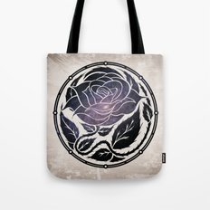 The Rose Medallion Tote Bag