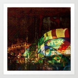 London time 2 Art Print