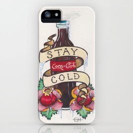 Stay Cold iPhone Case