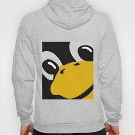 Linux tux Penguin eyes Hoody