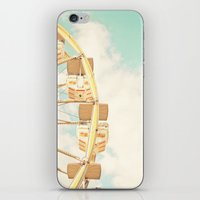 ferris wheel iPhone & iPod Skins featuring Ferris Wheel by Sweet Moments Captured