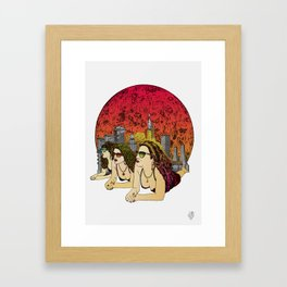 Calisto Framed Art Print