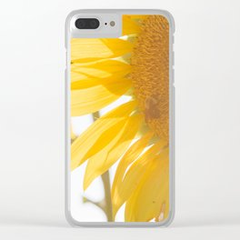 Sunflowers and Sunshine Clear iPhone Case