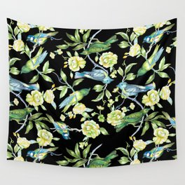 Botanical Tea Party Wall Tapestry