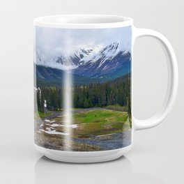 Springtime at Alyeska Resort Coffee Mug