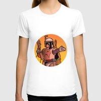 boba T-shirts featuring Boba Fire by Ann Van Haeken