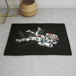 Space Astronaut Cute Couple Cosmic Rug