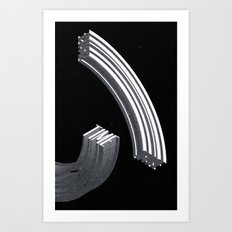 Space-Time Art Print