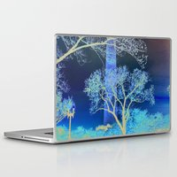 dc Laptop & iPad Skins featuring DC Blossom  by Cultivate Bohemia