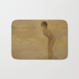 September Morn by Paul Émile Chabas, 1912 Bath Mat