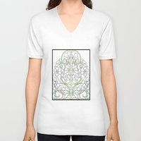 plants V-neck T-shirts featuring Plants by Abundance