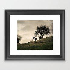 caballos Framed Art Print