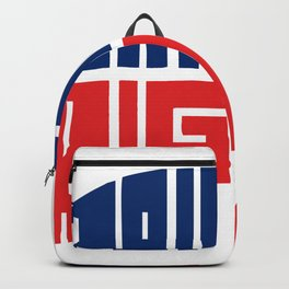 Raised Right Backpack