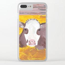 A Heifer Calf Named Darla Clear iPhone Case