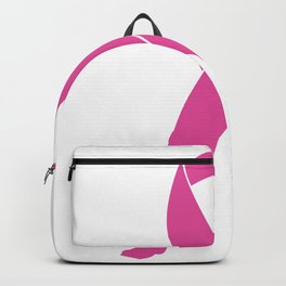 Stand Up to Cancer, Breast Cancer Support Pink Ribbon Backpack