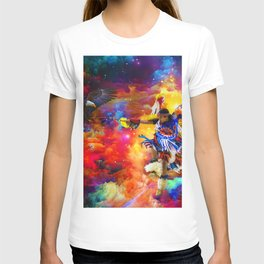 Dance with eagle T-shirt