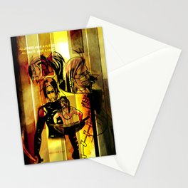 Saints and Sinners Stationery Cards