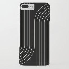 Minimal Line Curvature II iPhone Case