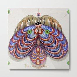 moth of darkness (original sold). Metal Print