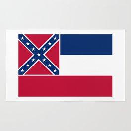 Mississippi State Flag, HQ image Rug