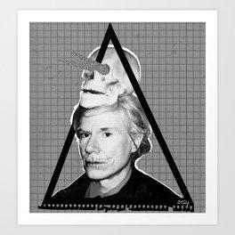 Andy Warholian Art Print