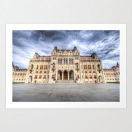 Budapest Parliament Art Print