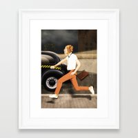 friday night lights Framed Art Prints featuring FRIDAY NIGHT  by LAURINDO FELICIANO