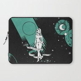 When you close your eyes Laptop Sleeve