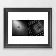 In/Out Framed Art Print