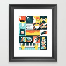 Procrastination Framed Art Print